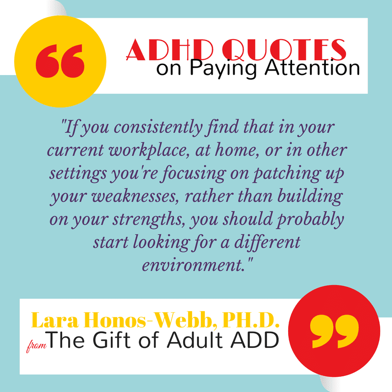adhd quote about work