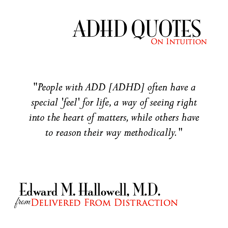 ADHD Quotes For Information and Inspiration