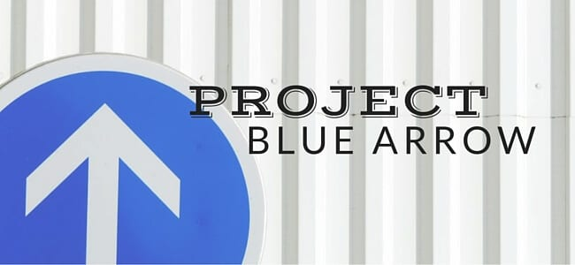 project blue arrow for adhd