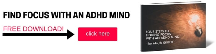 Ryan McRae Four Steps to Finding Focus with an ADHD Mind