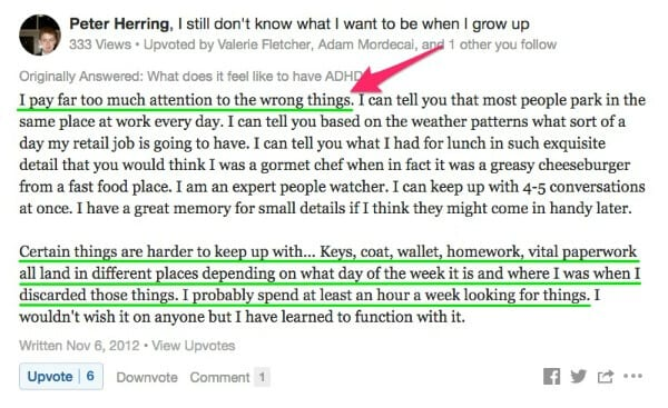 having add/adhd and losing things