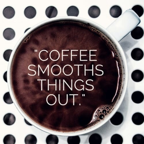 coffee smooths out ADHD
