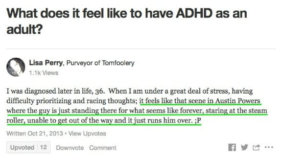 How to live with someone with adhd