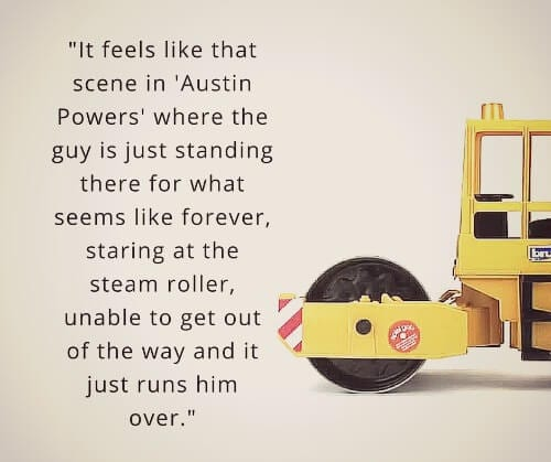 having add feels like