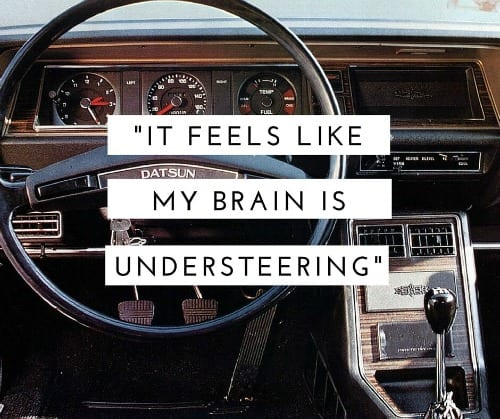 what is it like to have adhd brain understeering